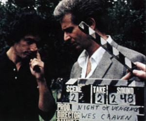 Last House on the Left clapper board