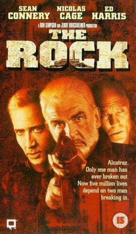 The Rock cut on VHS