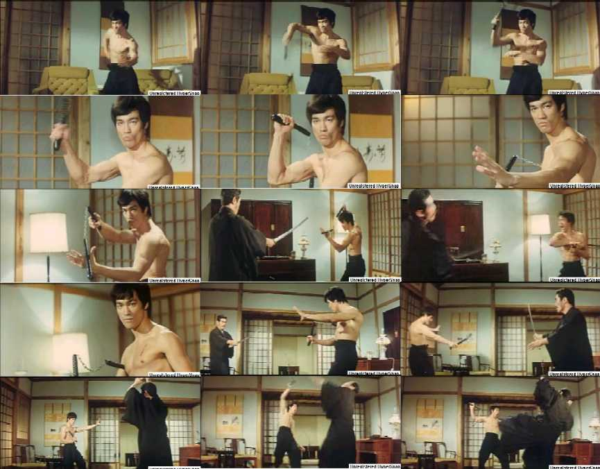 cut scene from Fist of Fury