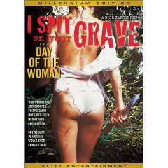 I Spit on your Grave DVD cover