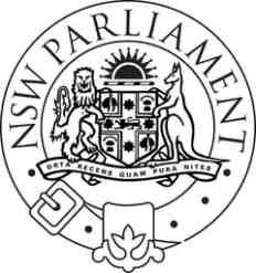 new south wales parliament logo