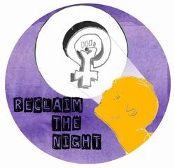 Reclaim the night artwork