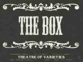 the box soho logo
