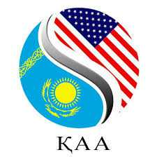Kazakh American Association logo