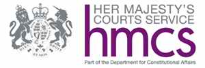 HM Court Services logo