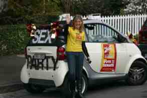 fiona patton campaign car
