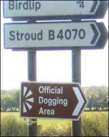 official dogging area