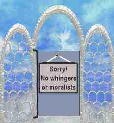 pearly gates no moralists