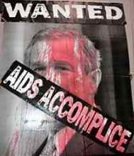 Bush AIDS Accomplice