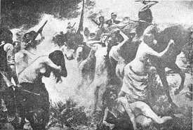 Armenian massacre by Turks
