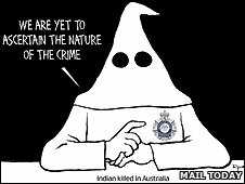 Klu Klux Klan cartoon