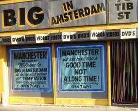 Big in Amsterdam shop