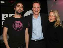 David Cameron in PR shot at Radio 1
