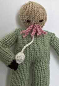 Cuddly Dr Who alien
