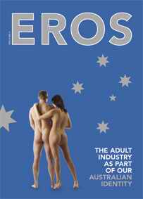 EROS magazine cover