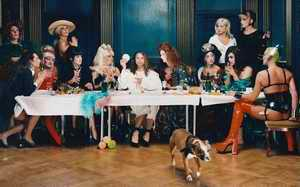 cross dressing last supper