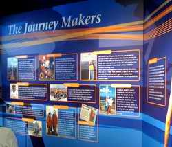The Journey Makers display