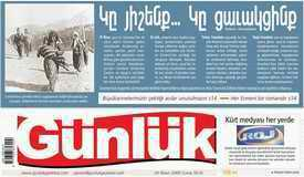 Gunluk newspaper