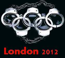 London Olympic Handcuffs