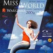 Miss World 2006 Warsaw poster