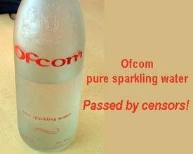 Ofcom water bottle
