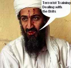 Osama Bin Laden: Dealing with the Brits