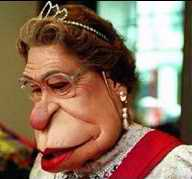 Spitting Image of the Queen