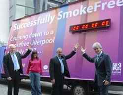 SmokeFree Liverpool advert
