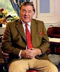 Terry Wogan with bulge