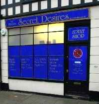 Secret Desires shop in Worthing