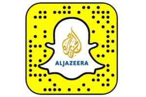aljazeera on snapchat