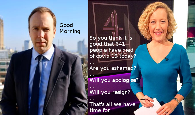 Channel 4 News 'journalism'