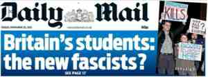daily mail on students