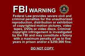 fbi copyright warning