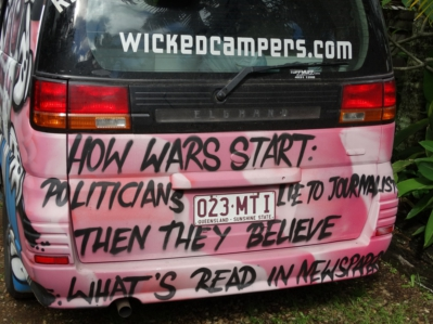 wicked campervans on politicans