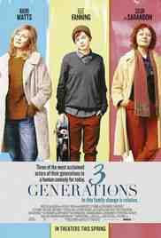 Poster 3 Generations 2015 Gaby Dellal