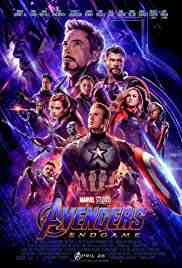 Poster Avengers Endgame 2019 Anthony Russo and Joe Russo