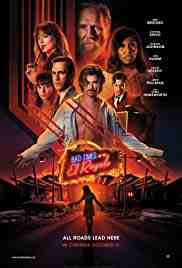 Poster Bad Times at the El Royale 2018 Drew Goddard