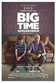 Poster Big Time Adolescence 2019 Jason Orley