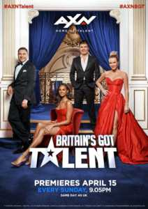 britains got talent poster