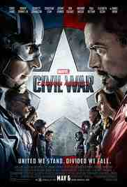 Poster Captain America Civil War 2016 Anthony Russo and Joe Russo