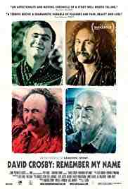 Poster David Crosby Remember My Name 2019 Aj Eaton