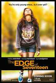 Poster Edge of Seventeen 2016 Kelly Fremon Craig
