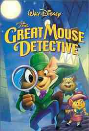 Poster Great Mouse Detective 1986 Ron Clements and Burny Mattinson