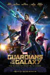 Poster Guardians of the Galaxy 2014 James Gunn