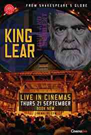 Poster King Lear Live From Shakespeare 2017 Nancy Meckler