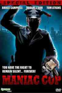 Poster Maniac Cop 1988 William Lustig