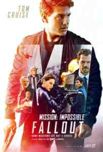mission impossible fallout poster