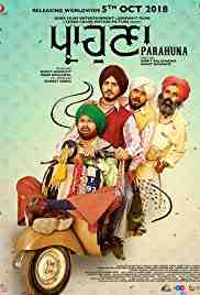 Poster Parahuna 2018 Mohit Banwait and Amrit Raj Chad