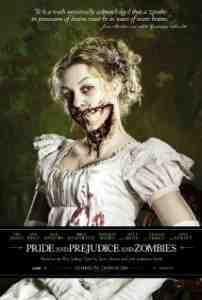 Poster Pride and Prejudice and Zombies 2016 Burr Steers